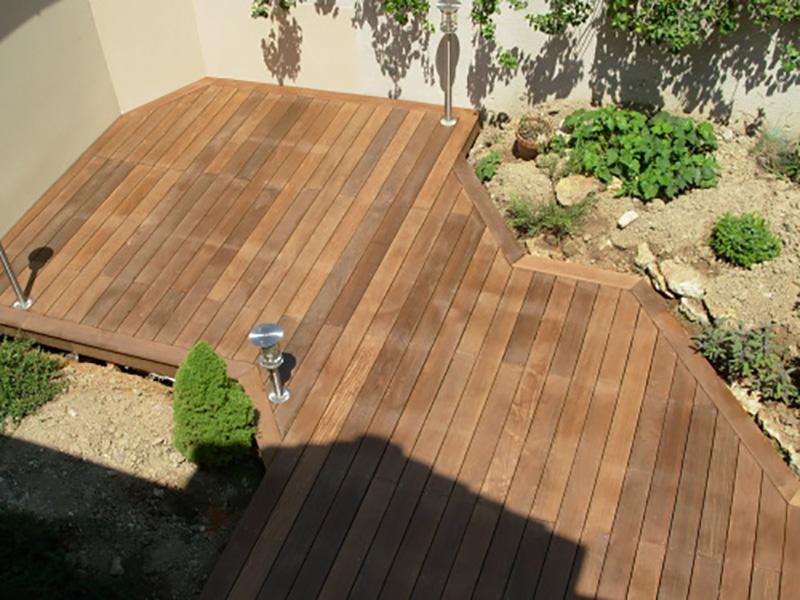 Devis terrasse bois bordeaux - Terrasse forme originale ...
