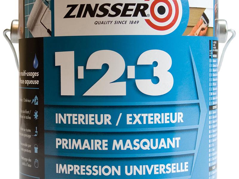ZINSSER 1-2-3 – primaire masquant