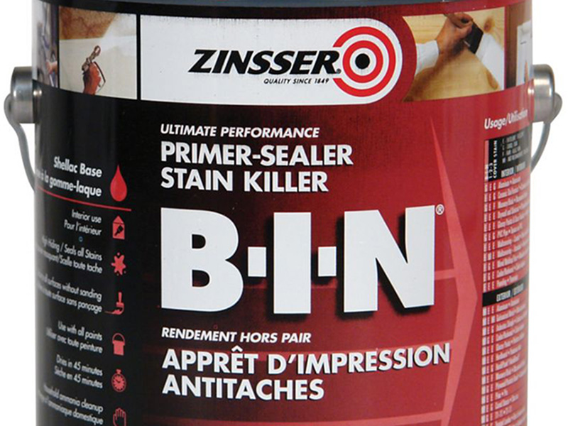 ZINSSER B-I-N - primaire d'accrochage ultra isolant