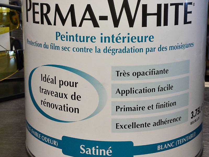 ZINSSER – Perma White