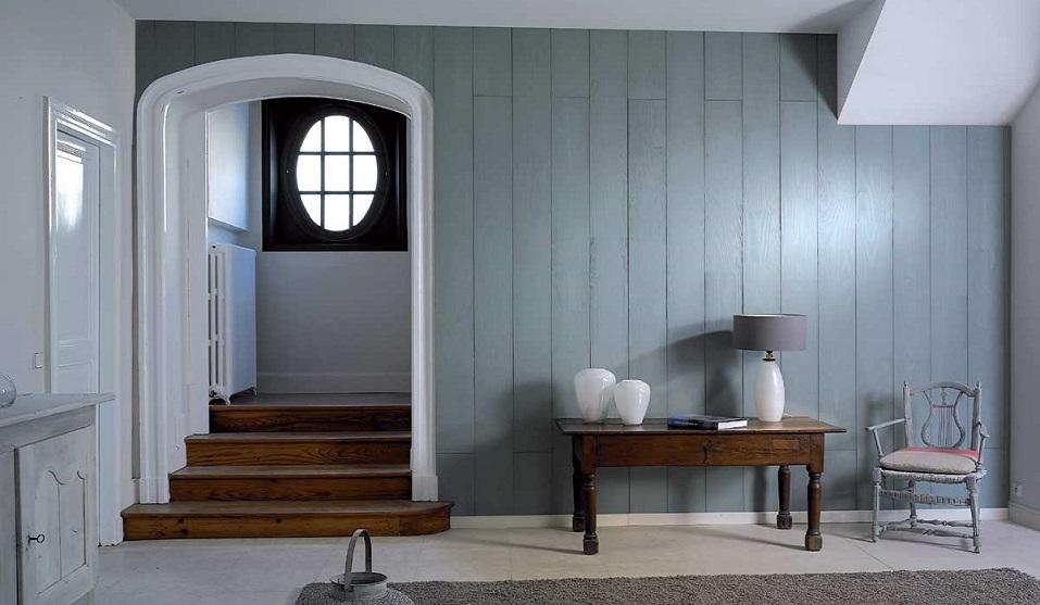 Lambri Intérieur Verniland Virginia bleu